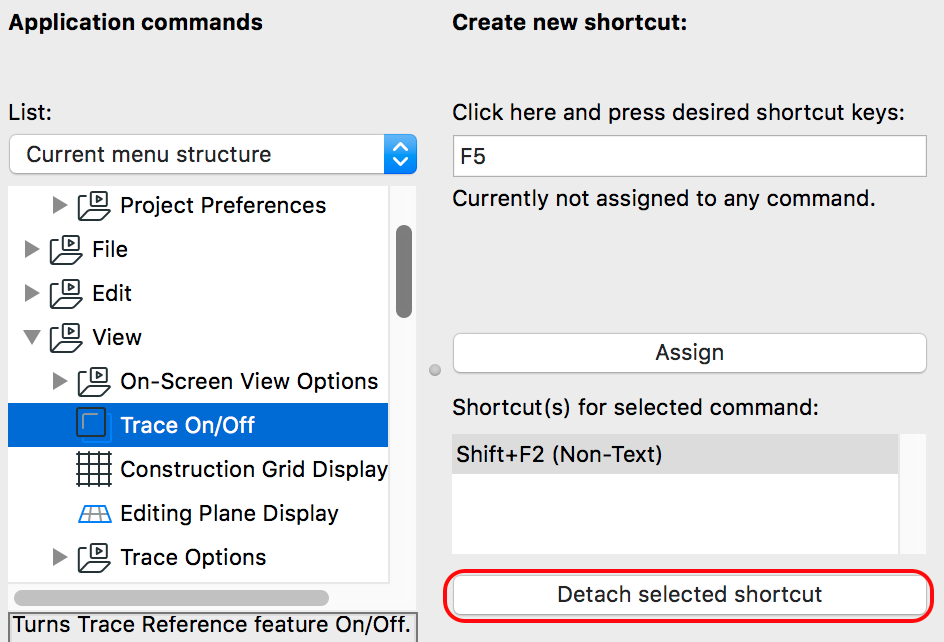 Keyboard Shortcuts | Knowledgebase Page | GRAPHISOFT Help Center